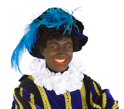 Zwarte Piet licensed CC BY-SA via https://commons.wikimedia.org/wiki/File:Zwartepiet.png